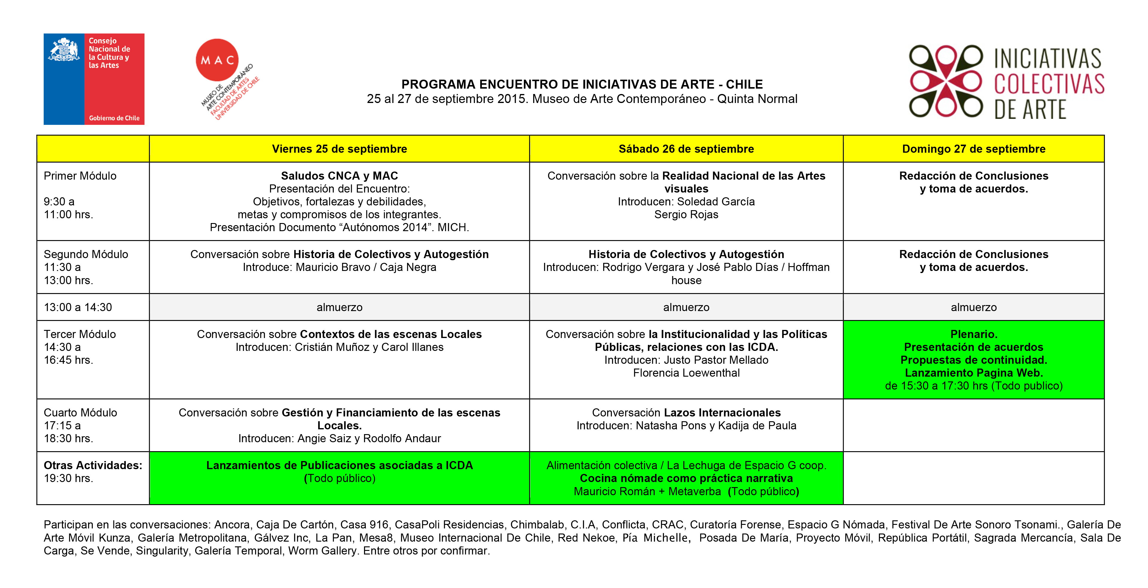 Microsoft Word - PROGRAMA ENCUENTRO ICDA 2015.docx